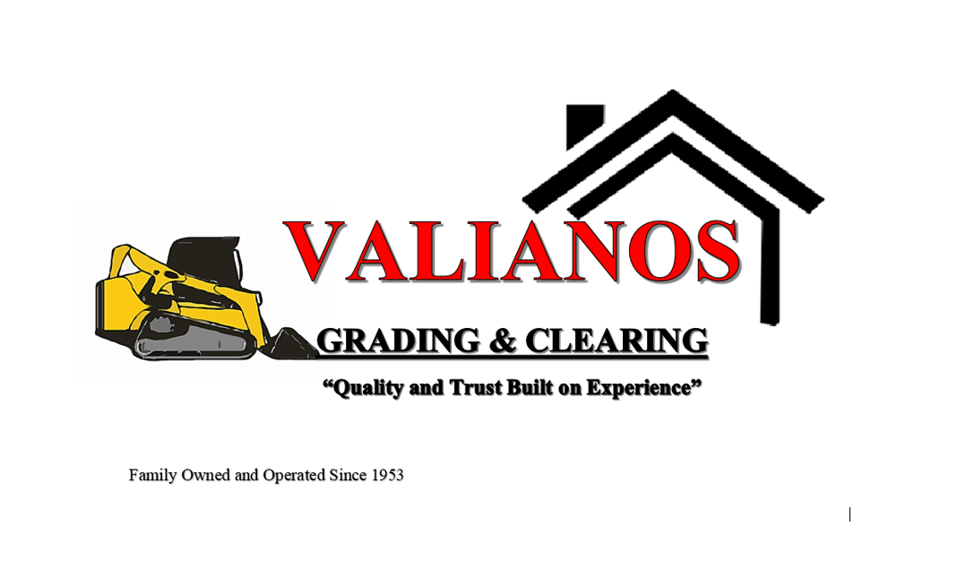 valianos grading and clearing